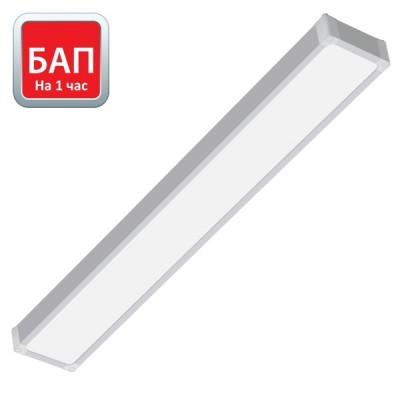 Hightech-32/opal-sand 160х1195 (IP54, 4000К/5000К, белый) с БАП на 1 час.