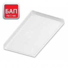 Светодиод. св-к Hightech-30/opal-sand 295х595 (IP40, 4000К/5000К, белый) с БАП на 1 час.