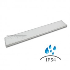 Влагозащищенный светодиодный светильник RVE-OS12020-UNO-IP54-36LUX (IP54 , 36Вт, 1195*200*40мм, опал, 4000К/5000К)