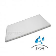 Влагозащищенный светодиодный светильник RVE-OS12060-UNO-IP54-72LUX (IP54 , 72Вт, 1195*595*40мм, опал, 4000К/5000К)