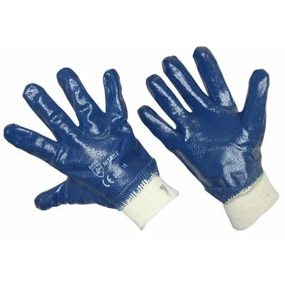 Перчатки х/б с нитриловым покрытием