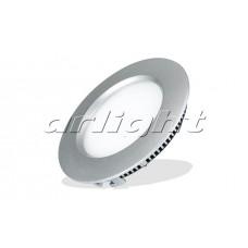Светильник MD120-6W (6Вт,d122x16мм,6000К,серебристый).
