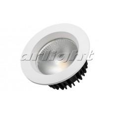 Светодиодный светильник LTD-105WH-FROST-9W (9Вт,d105x55мм,3000К/4000К/6000К,белый).