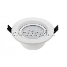 Светодиодный светильник LTD-70WH 5W (5Вт,d102x50мм,3000К/4500К/6000К,белый).
