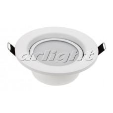 Светодиодный светильник LTD-80WH 9W (9Вт,d115x50мм,3000К/4500К/6000К,белый).