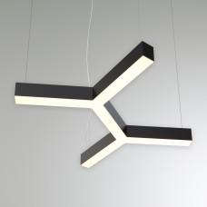 Светильник RVE-LBX-TRINITY-2X-400-P (парный трёхлучевой крест 400x445x100мм S80мм 26Вт белый)