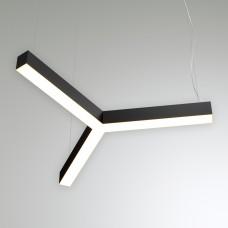 Светильник RVE-LBX-TRINITY-400-P (трёхлучевой крест 400x356x100мм S80мм 16Вт белый)