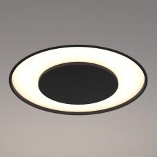 Светильник RVE-LBX-UNITY-300-V круг с диском в центре 300x300x100мм 18Вт черный