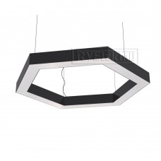 RVE-LBX-HOLE-HEXA-1500-P (шестиугл. с отв. 1500x1299x100мм S80мм 107Вт белый) светильник