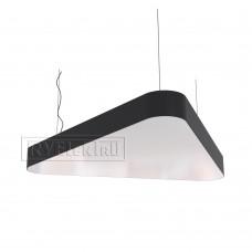 RVE-LBX-TRINITY-1400-P (треугл. закругл. 1400x1246x120мм 115Вт белый) светильник