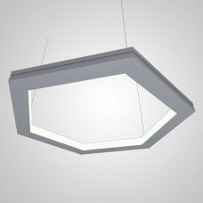 RVE-PLS5070-IN-HEXA-568-P (шестиугл вовнутрь 568x492мм сег. 284мм 50x70мм 36Вт) светильник