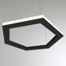 Светильник RVE-PLS5070-OUT-HEXA-531-P (шестиугл наружу 531x460мм сег. 266мм 50x70мм 36Вт)