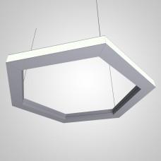RVE-PLS5070-OUT-HEXA-531-P (шестиугл наружу 531x460мм сег. 266мм 50x70мм 36Вт) светильник