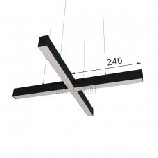 RVE-PLS5070-KRESCENT-480-P (крест 480x480мм сег. 240мм 50x70мм 24Вт) светильник