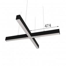 RVE-PLS5070-KRESCENT-948-P (крест 948x948мм сег. 474мм 50x70мм 48Вт) светильник