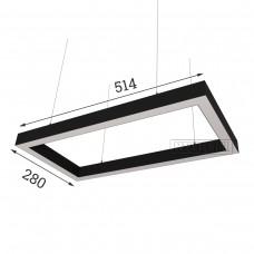 RVE-PLS5070-CUADRO-514-P (прямоуг. 514x280мм 50x70мм 36Вт) светильник