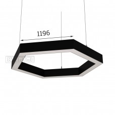 RVE-PLS5070-HEXA-2392-P (шестиугл 2392x2072мм сег. 1196мм 50x70мм 180Вт) светильник