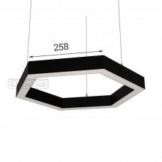 RVE-PLS5070-HEXA-516-P (шестиугл 516x447мм сег. 258мм 50x70мм 36Вт) светильник