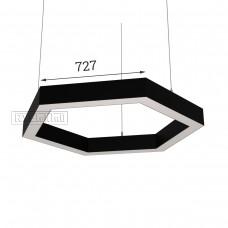 RVE-PLS5070-HEXA-1454-P (шестиугл 1454x1259мм сег. 727мм 50x70мм 108Вт) светильник
