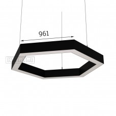 RVE-PLS5070-HEXA-1922-P (шестиугл 1922x1665мм сег. 961мм 50x70мм 144Вт) светильник