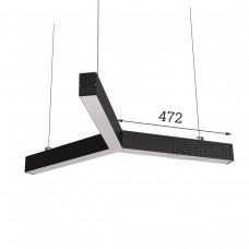 RVE-PLS5070-TRINITY-843-P (3x крест 843x730мм сег. 472мм 50x70мм 36Вт) светильник
