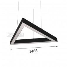 RVE-PLS5070-TRIO-1488-P (треугольник 1488x1289мм сег. 1488мм 50x70мм 108Вт) светильник