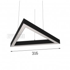 RVE-PLS5070-TRIO-316-P (треугольник 316x274мм сег. 316мм 50x70мм 18Вт) светильник