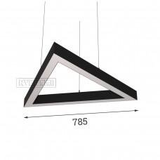 RVE-PLS5070-TRIO-785-P (треугольник 785x680мм сег. 785мм 50x70мм 54Вт) светильник