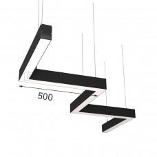 RVE-PLS5070-BARRE-Z-1662-P (зигзаг 1662x389мм сег. 500мм 50x70мм 59Вт) светильник