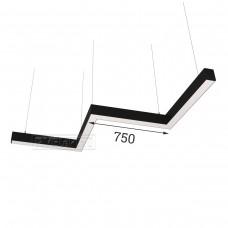 RVE-PLS5070-BARRE-M-2051-P (зигзаг 2051x566мм сег. 750мм 50x70мм 72Вт) светильник