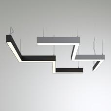 Светильник RVE-PLS5070-BARRE-M-636-P (зигзаг 636x212мм сег. 250мм 50x70мм 22Вт)