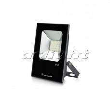 Светодиодный прожектор AR-FLAT-ICE-20W-220V 120 deg (20Вт,3000К/4000К/6000К,Чёрный).