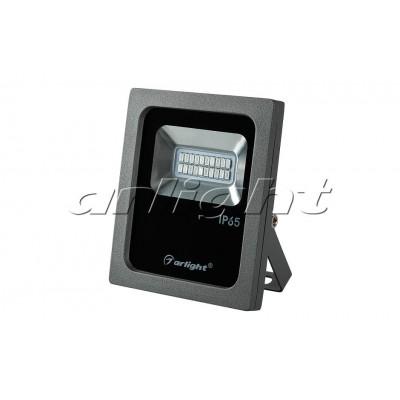 Светодиодный прожектор AR-FLG-FLAT-10W-220V-color