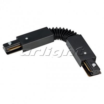 Коннектор гибкий LGD-2TR-CON-FLEX-WH-BK (C)