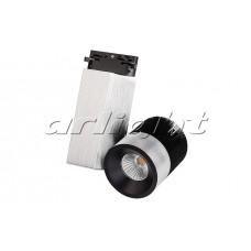 Светодиодный трековый светильник LGD-2238SB-15W 24deg (15Вт,d130x200x145мм,3000К/4000К/5000К,Чёрный)