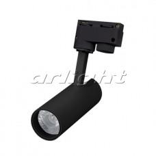 Светодиодный трековый светильник LGD-GERA-2TR-R55-10W 24 deg BK (10Вт,d55x145x145мм,3000К/4000К/6000К,Чёрный).