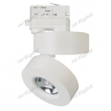 Светильник LGD-MONA-TRACK-4TR-R100-12W 24 deg WH (12Вт,d100x105мм,3000К/4000К/5000К,Белый).