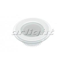 Светодиодная панель LT-R96WH 6W (6Вт,d96x45мм,3000K/4500К/6000К,белый).