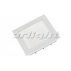 Светильник DL-172x172M-15W (15Вт,172x172x13мм,3000К/4000К/6000К,белый).