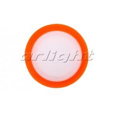 Светодиодная панель LTD-80SOL-R-5W (5Вт,d80x40мм,4000К,оранжевый).