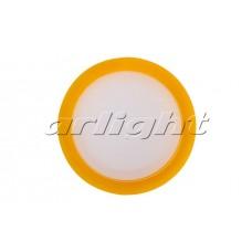 Светодиодная панель LTD-80SOL-Y-5W (5Вт,d80x40мм,4000К,оранжевый).