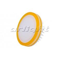 Светодиодная панель LTD-95SOL-Y-10W (10Вт,d95x40мм,3000К/4000К,жёлтый).