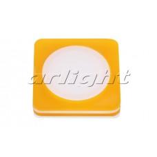 Светодиодная панель LTD-80x80SOL-Y-5W (5Вт,80x80x40мм,3000К/4000К,жёлтый).