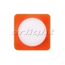 Светодиодная панель LTD-80x80SOL-R-5W (5Вт,80x80x40мм,3000К/4000К,оранжевый).