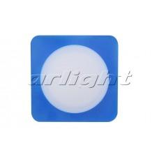 Светодиодная панель LTD-80x80SOL-B-5W (5Вт,80x80x40мм,3000К/4000К,синий).