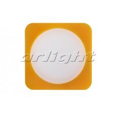 Светодиодная панель LTD-95x95SOL-Y-10W (10Вт,95x95x40мм,3000К/4000К,жёлтый).